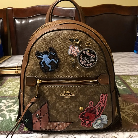 7b0d4e612c57 Coach Bags | Limited Nwt Keith Haring Andi Mini Backpack | Poshmark